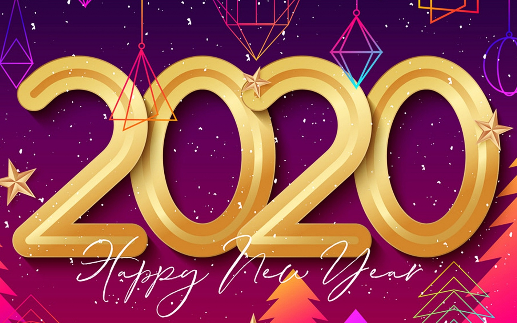 download Happy New Year 2020 Best HD Wallpaper 45543 Baltana 1680x1050