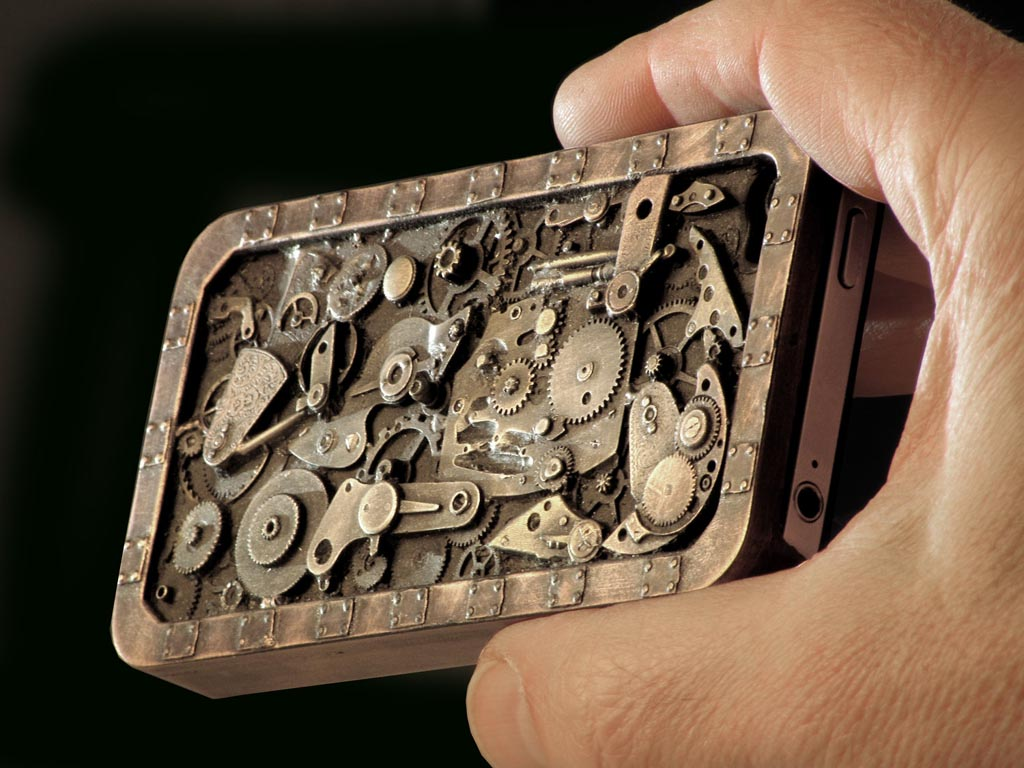 Steampunk iPhone 4 iPhone 4 case protective case iPhone 4S iPhone 1024x768