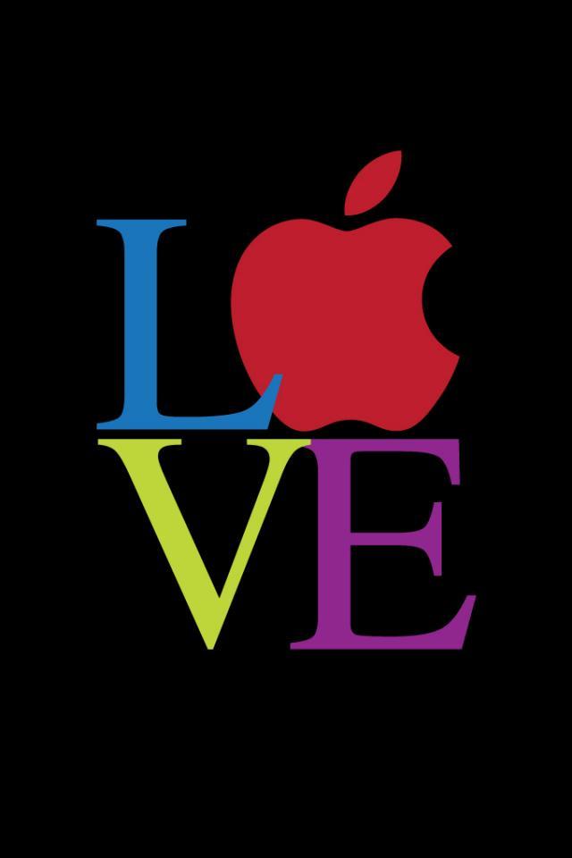 Apple Love iphone 4S wallpaper 640x960 iPhone 4s Wallpapers iPhone 640x960