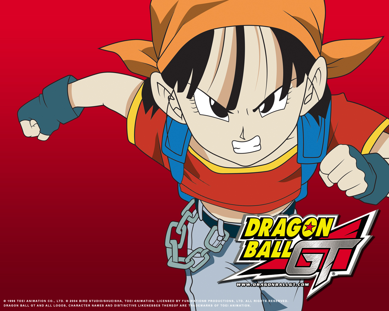 Wallpaper Dragon Ball Gt 1280x1024