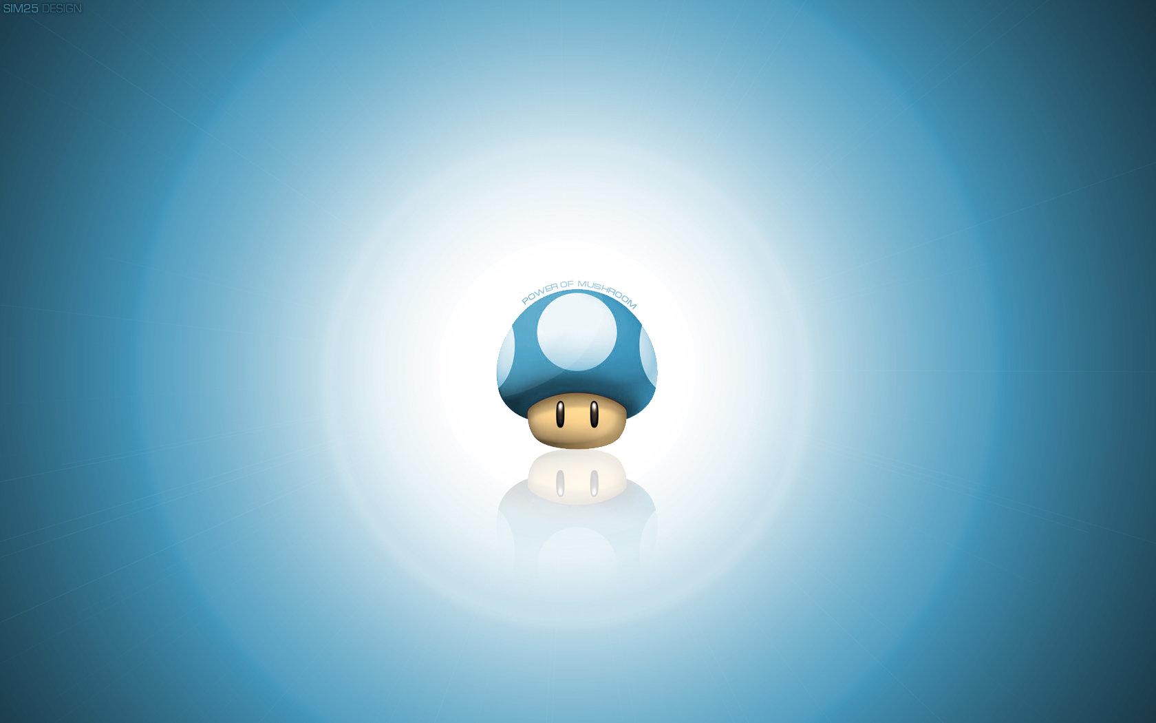 Mushroom Wallpaper HD by Sim25 Design 1680x1050