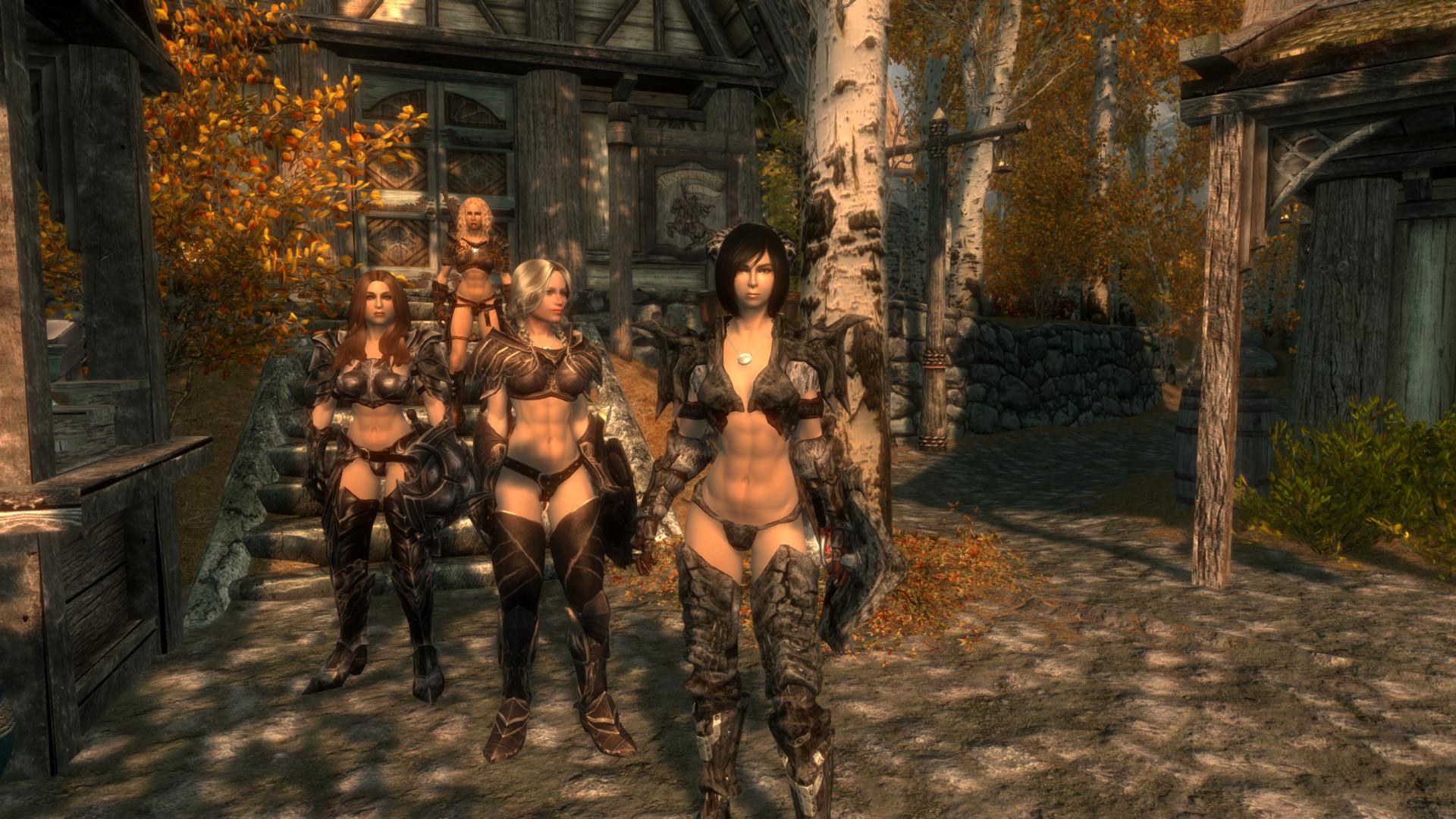 Free download Sexy Vanilla Female Armor for UNP and