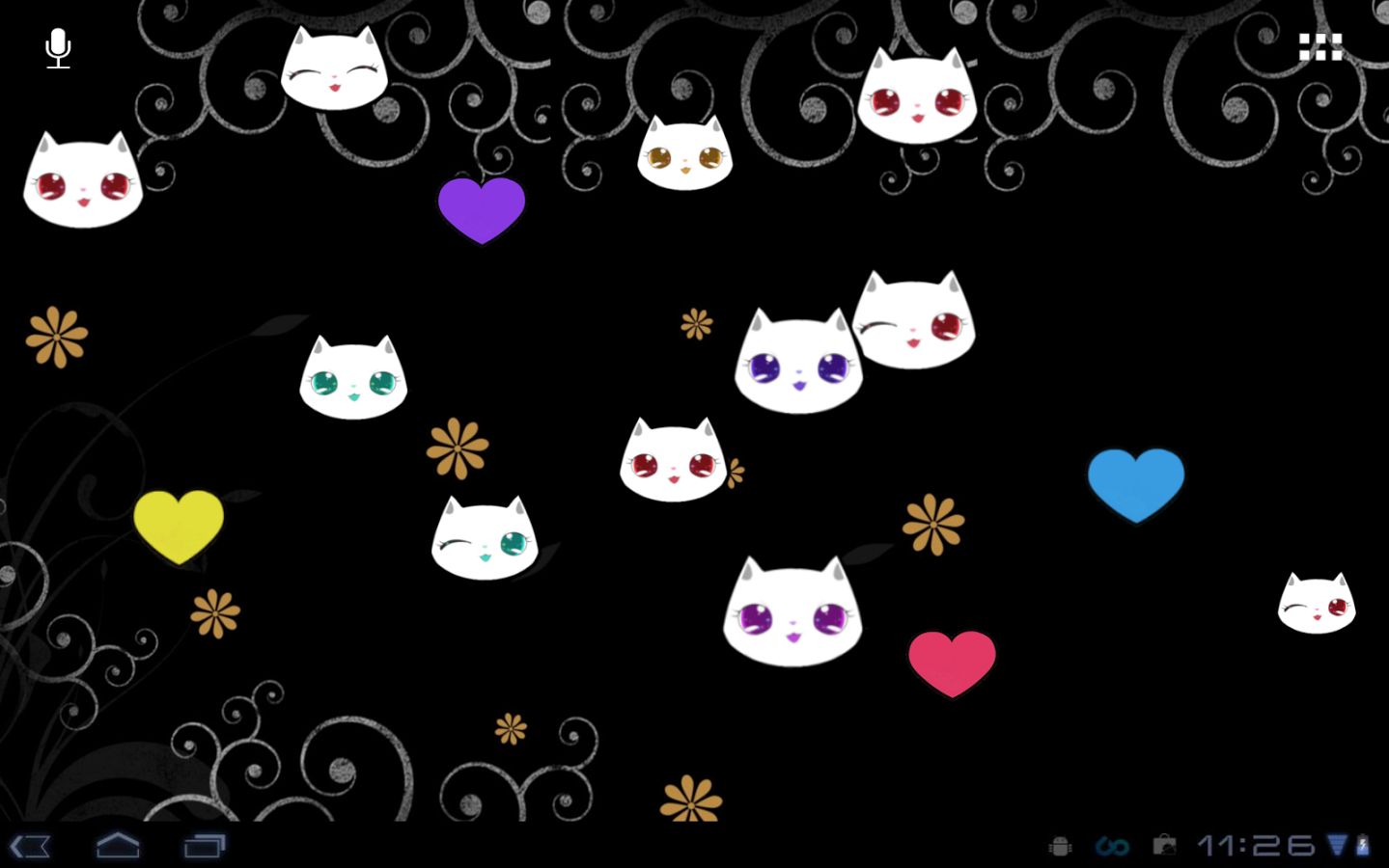 Lily Kitty Cool Live Wallpaper   Android Apps on Google Play 1439x900