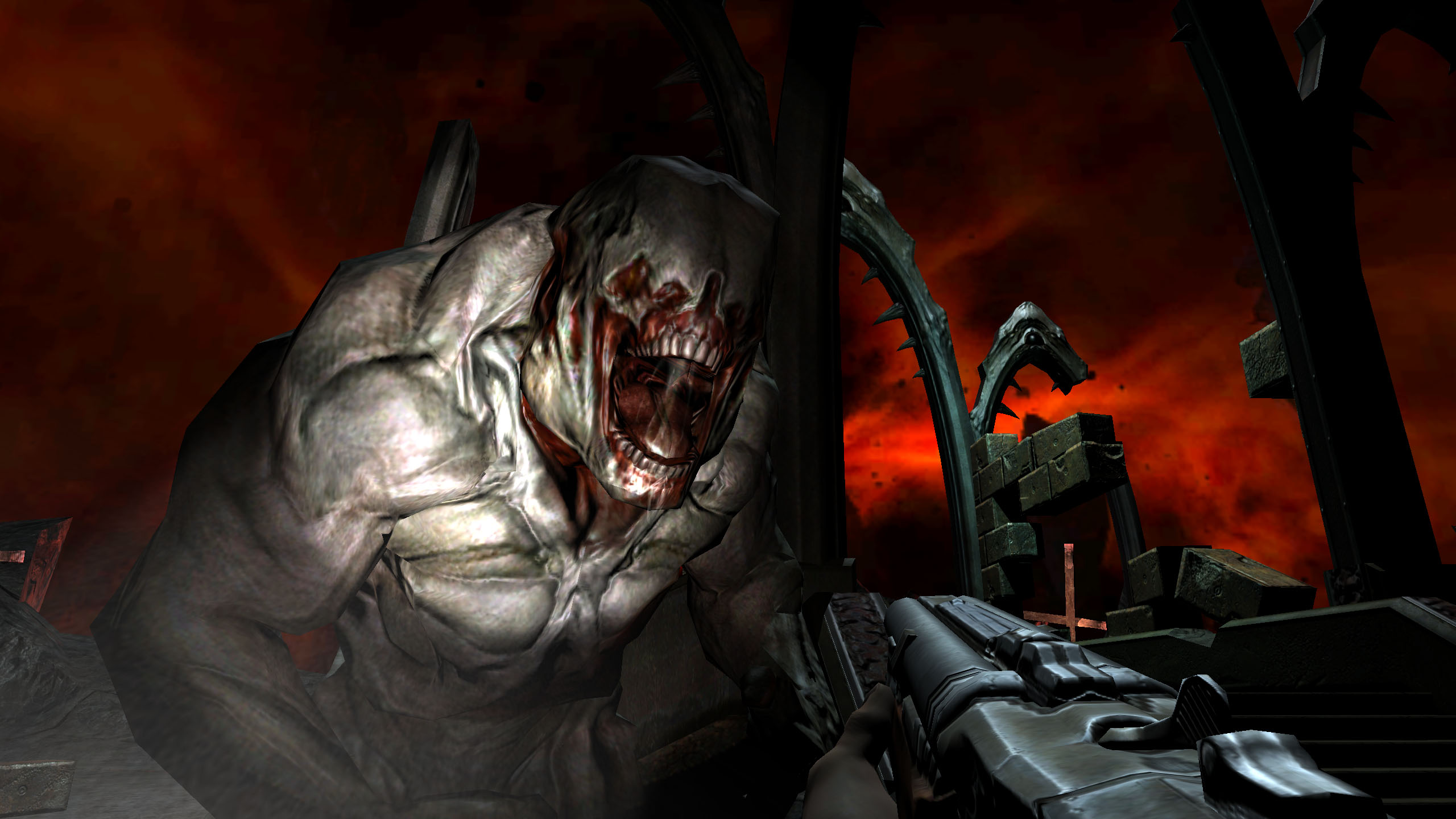 this doom 3 bfg edition wallpaper is available in 24 2560x1440