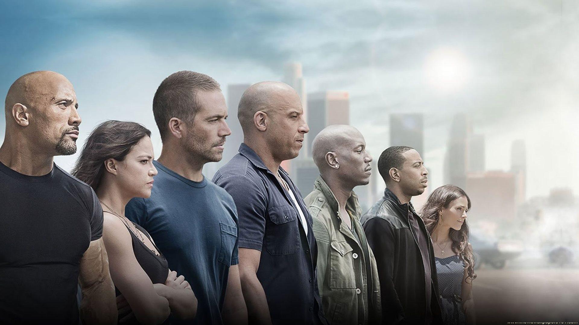 Furious 7 2015 Movie Full Cast Poster HD Wallpaper   Stylish HD 1920x1080