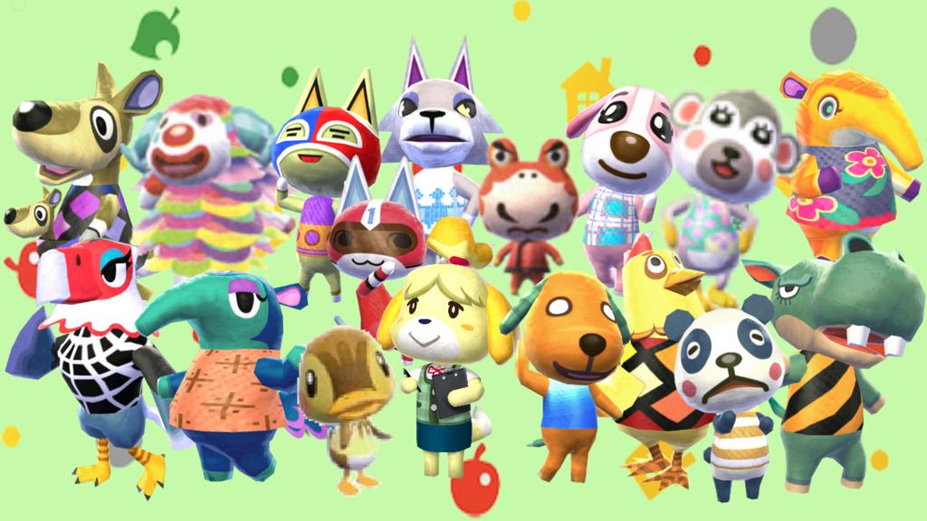 Free Download Animal Crossing New Leaf Chuggaaconroy Wallpaper By