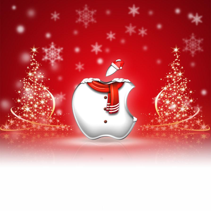 iPad Wallpaper   Christmas by LaggyDogg 894x894