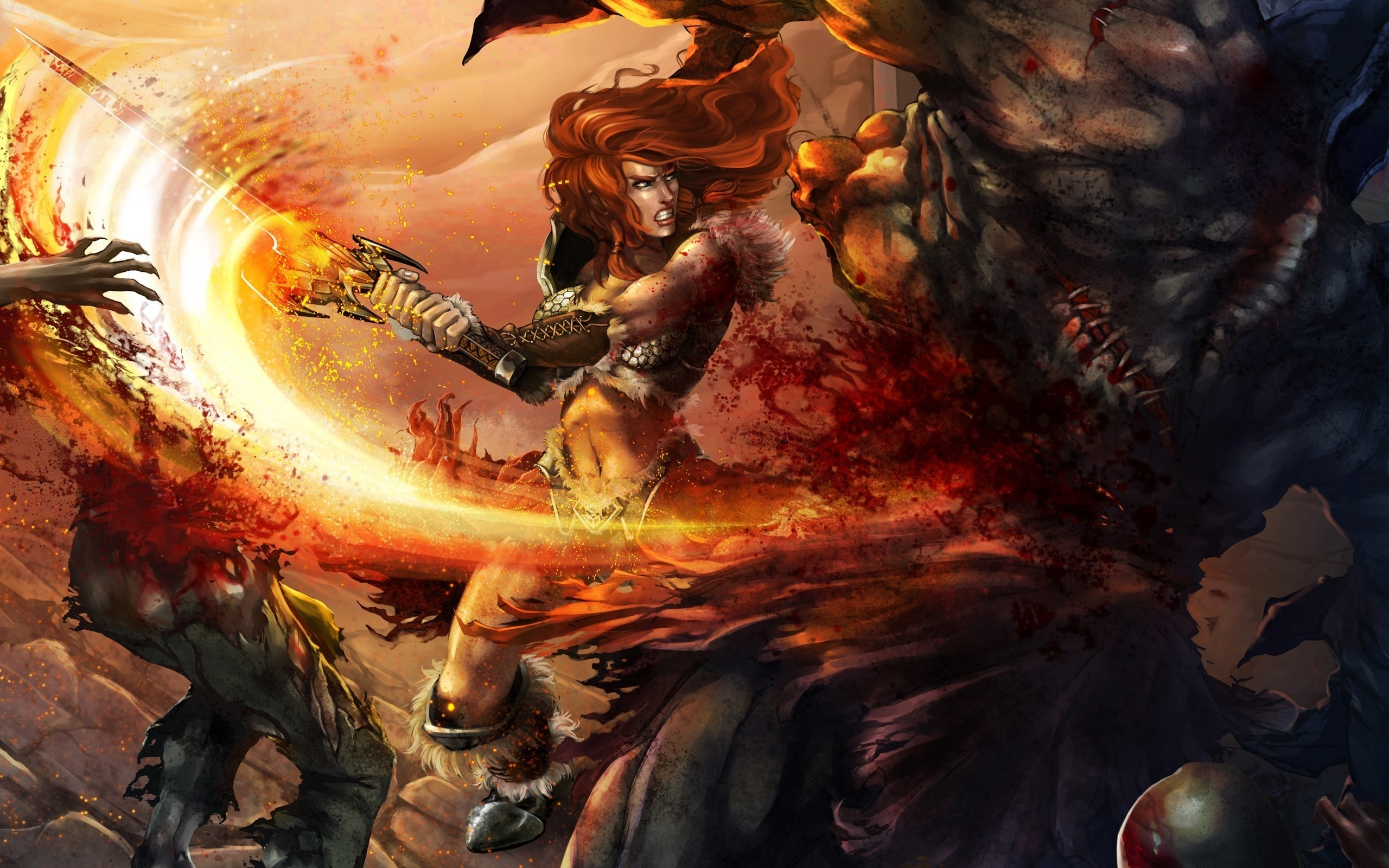 PK97 High Definition Barbarian Pictures Mobile PC 2560x1600