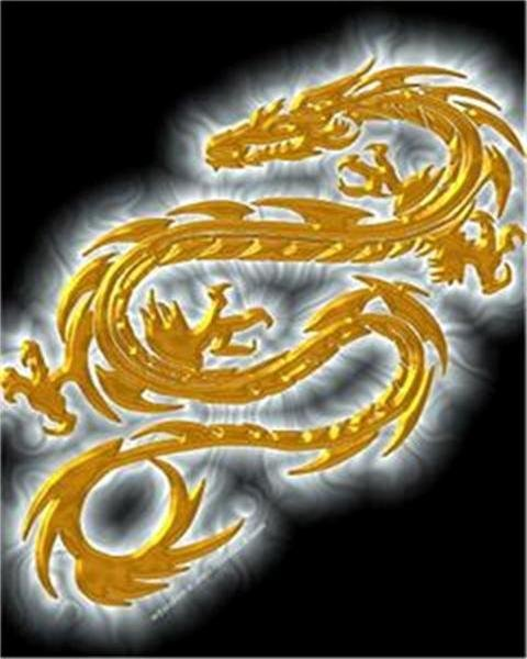 Golden Dragon phone wallpaper by dan 2 480x600