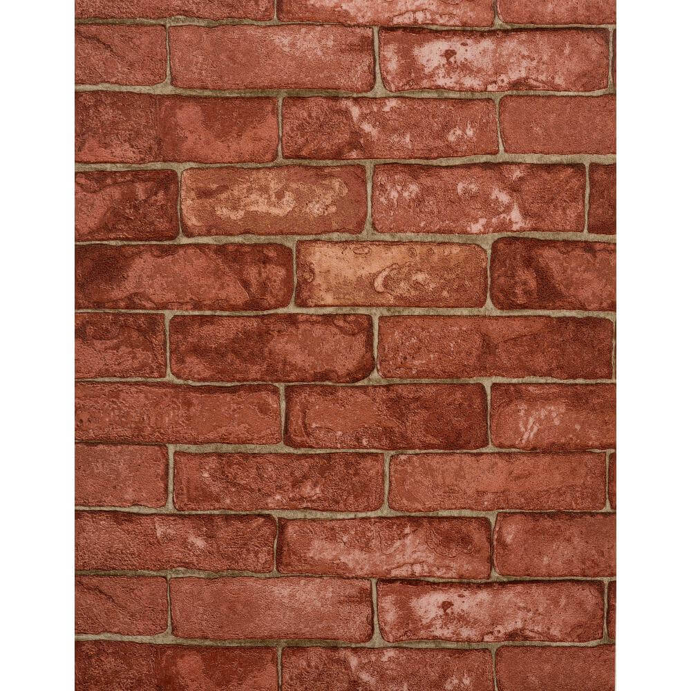 Features Unpasted   Washable   Strippable Rustic Brick RN1032 1000x1000