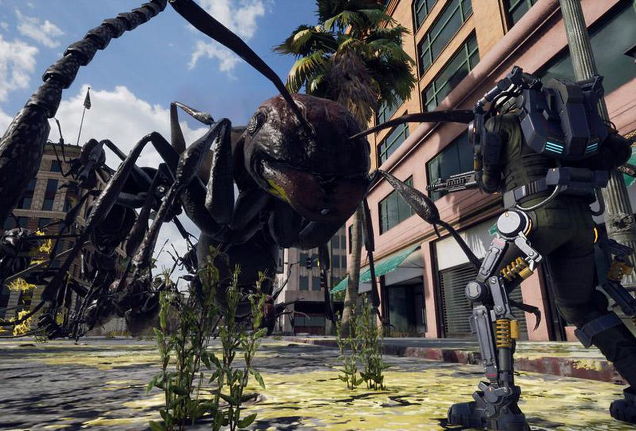 Earth Defense Force Iron Rain Ps4 Release Date   The Earth Images 1280x868