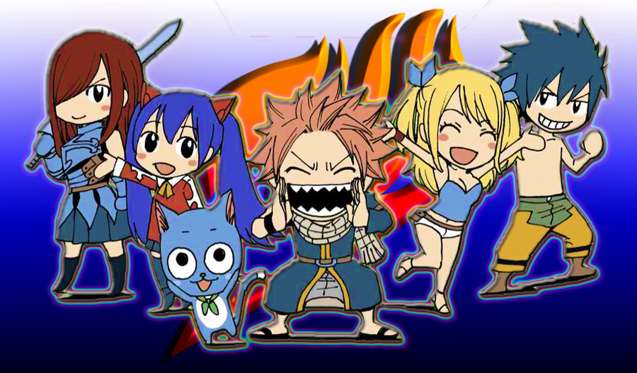 Fairy Tail Wallpaper by SkyDragon01 900x527