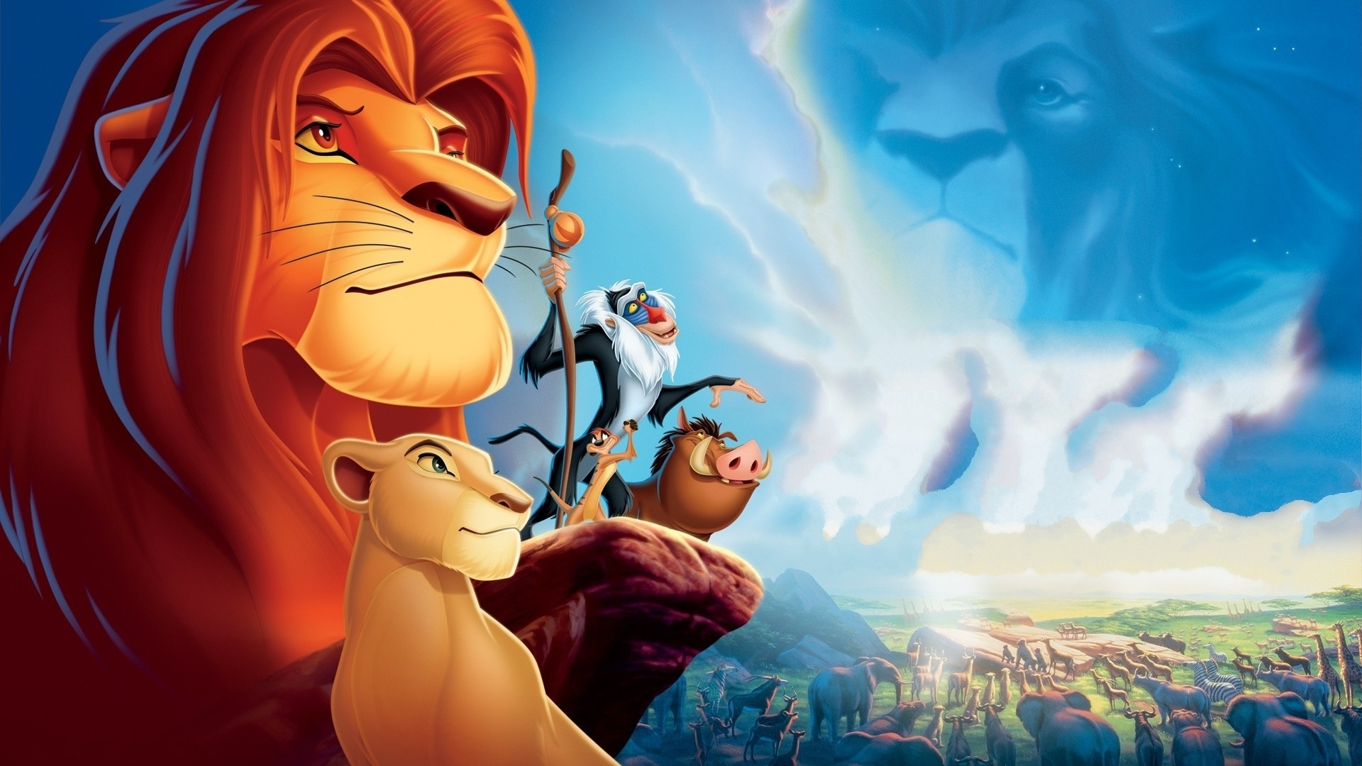 The Lion King   The Lion King Wallpaper 32779773 1920x1080