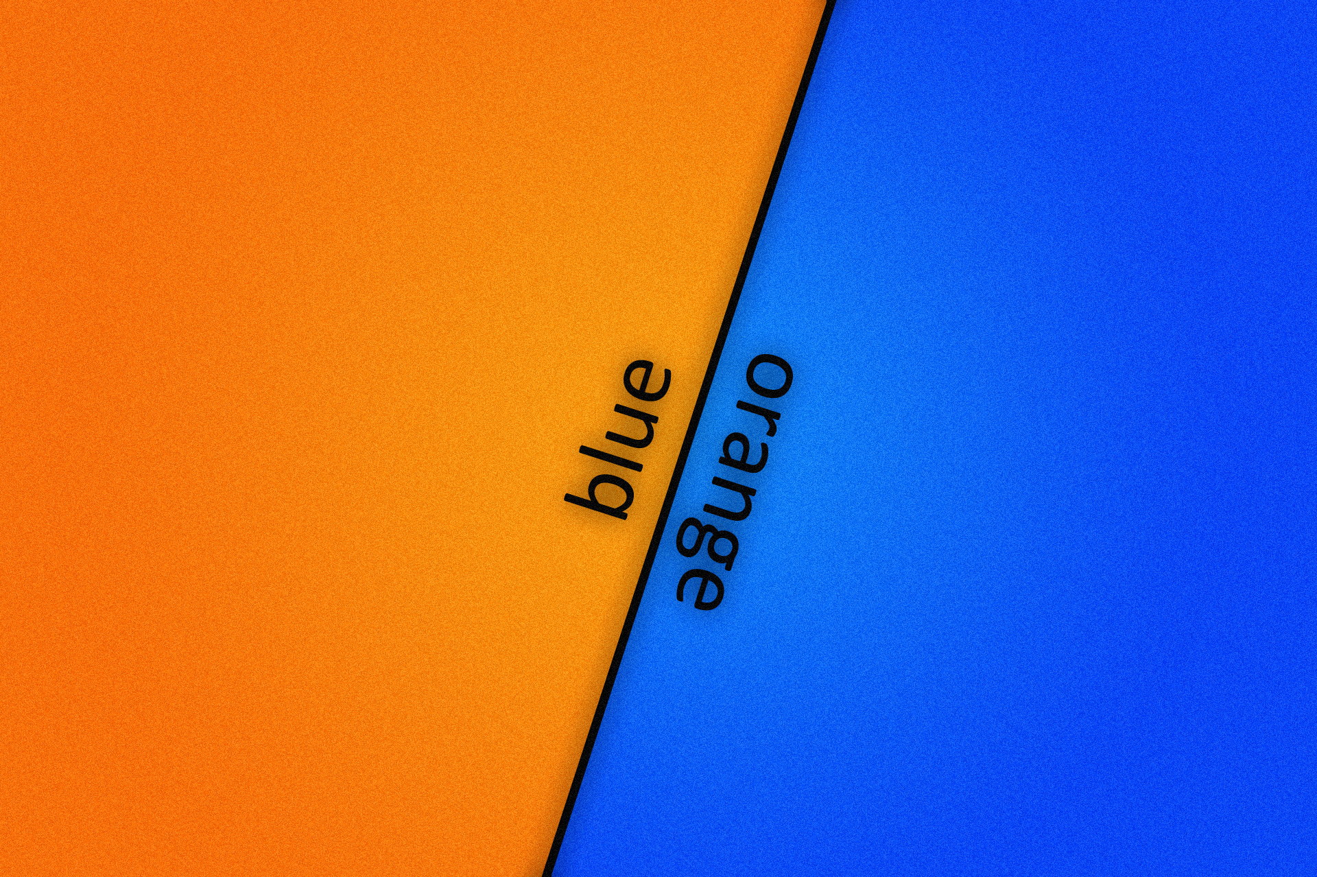 Orange And Blue Wallpaper 1920x1278