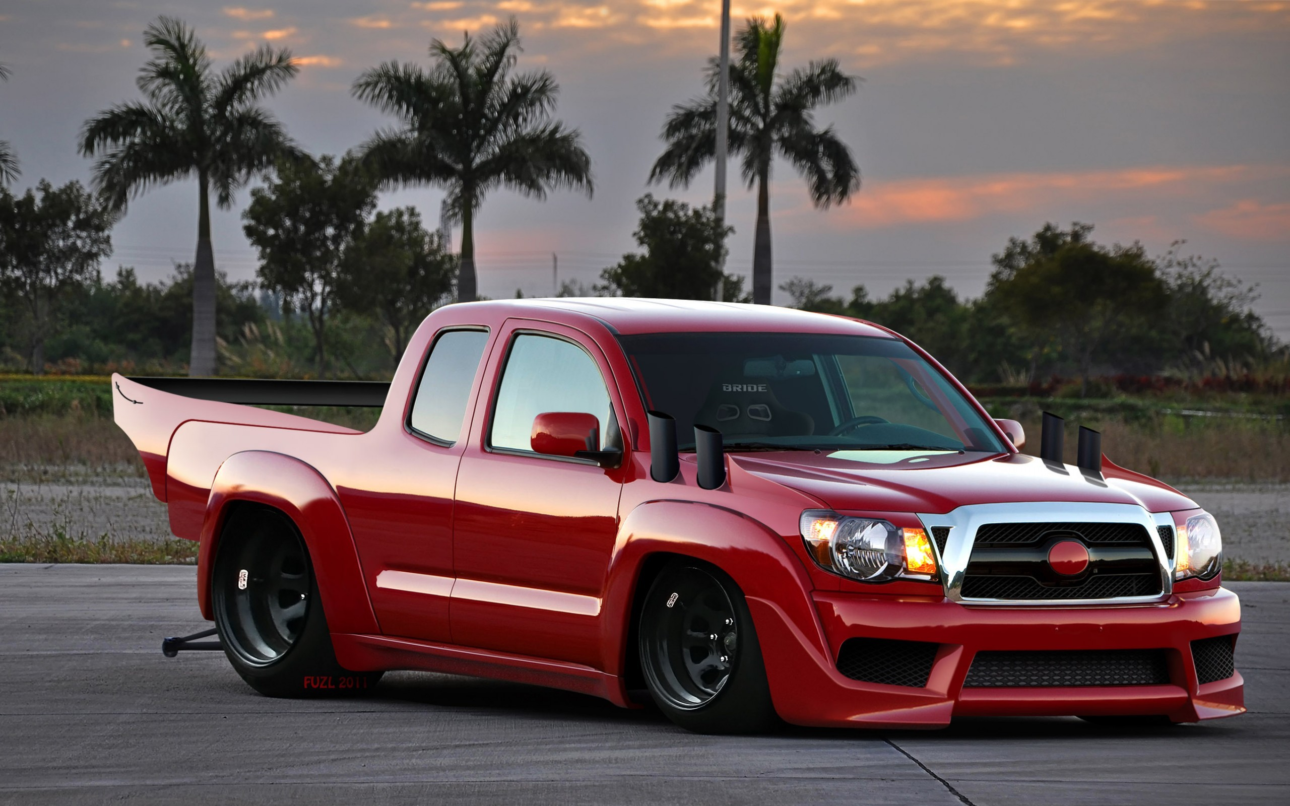 Toyota Tacoma dragster Widescreen Wallpaper   5338 2560x1600
