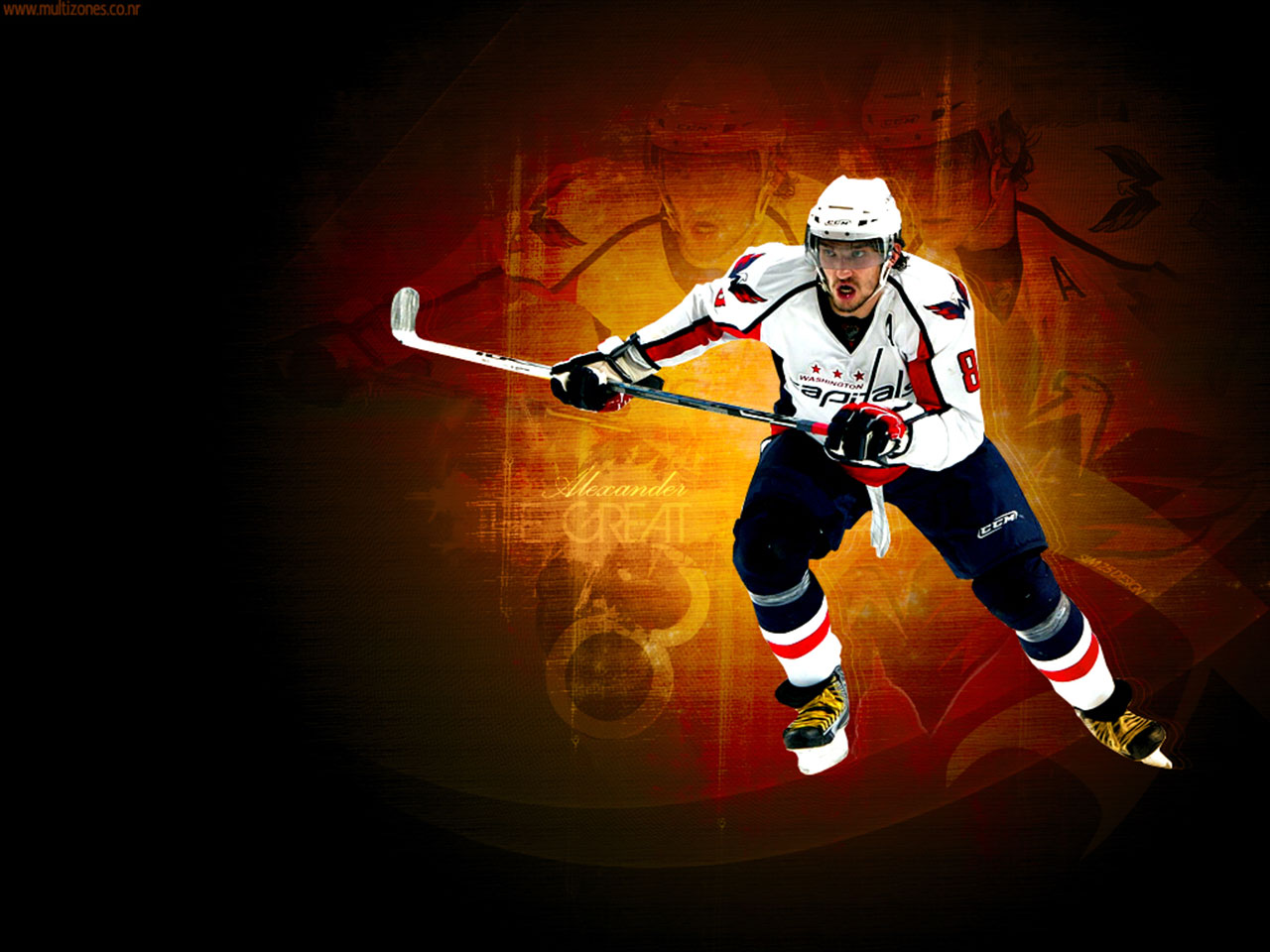 NHL Wallpapers   Alexander Ovechkin Capitals wallpaper 1280x960