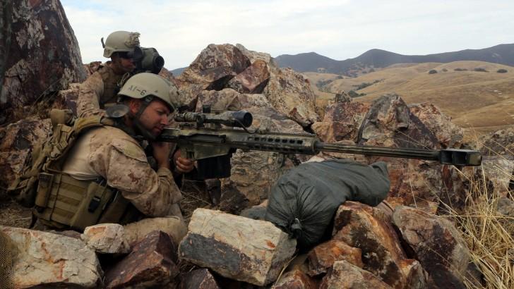 Marine Sniper Wallpaper - WallpaperSafari
