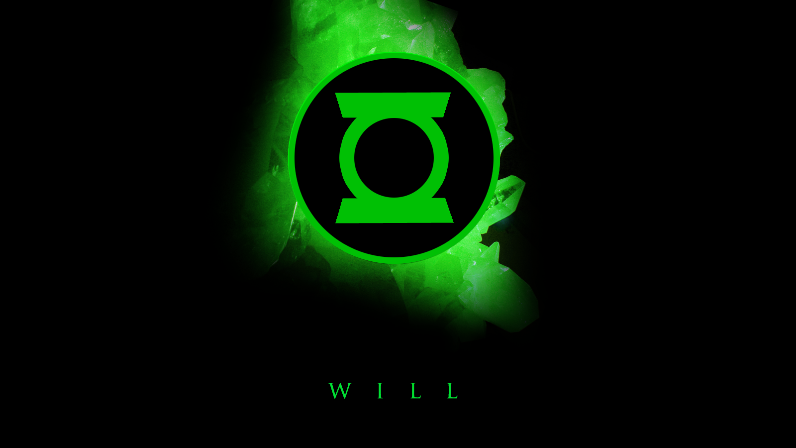 Green Lantern Logo Wallpapers 1600x900