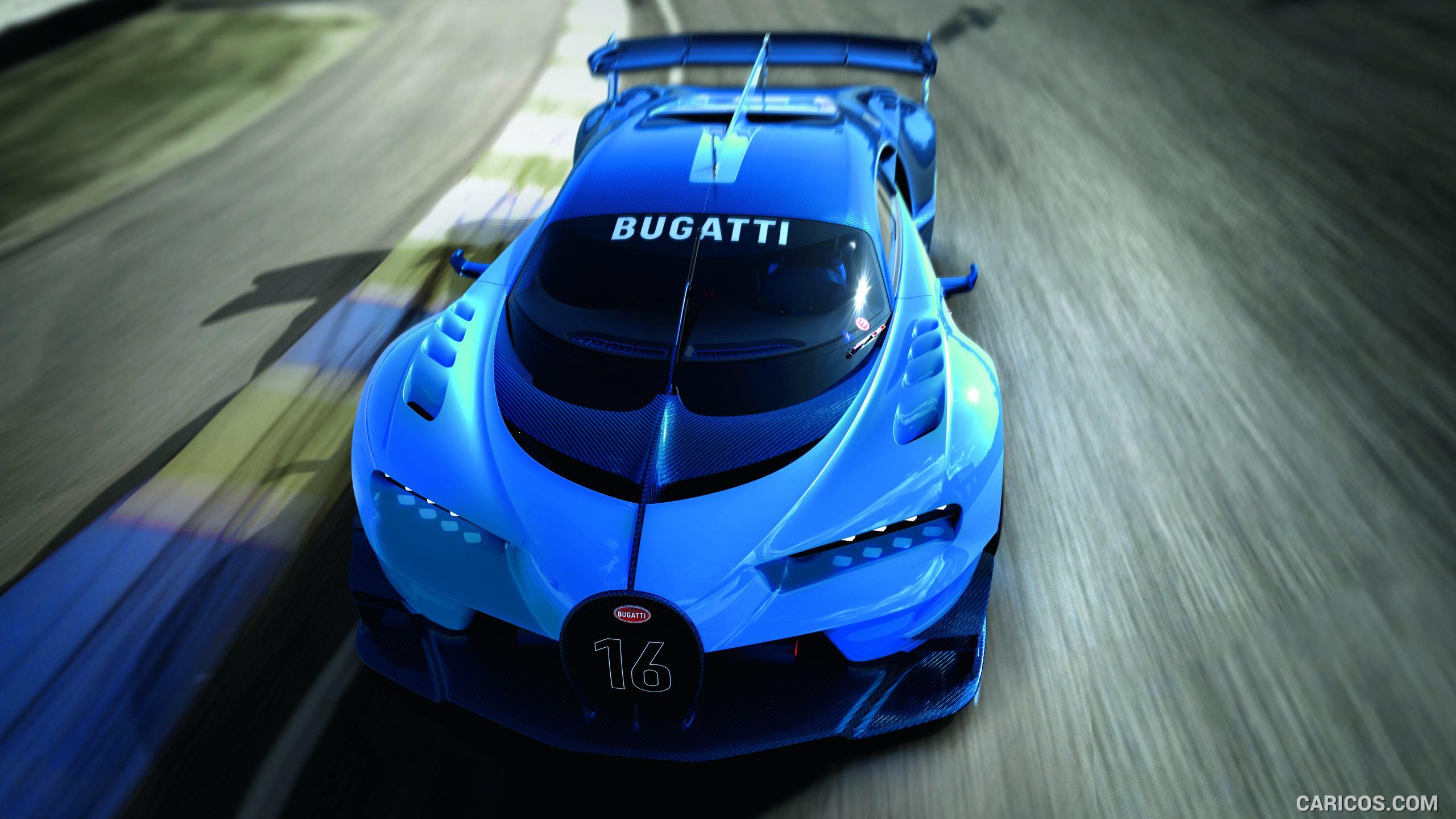 2015 Bugatti Vision Gran Turismo Concept   Top HD Wallpaper 8 2560x1440