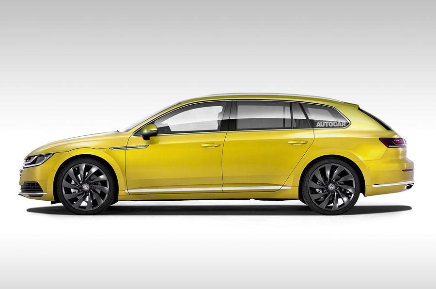 Volkswagen considering Arteon Shooting Brake Autocar 900x596