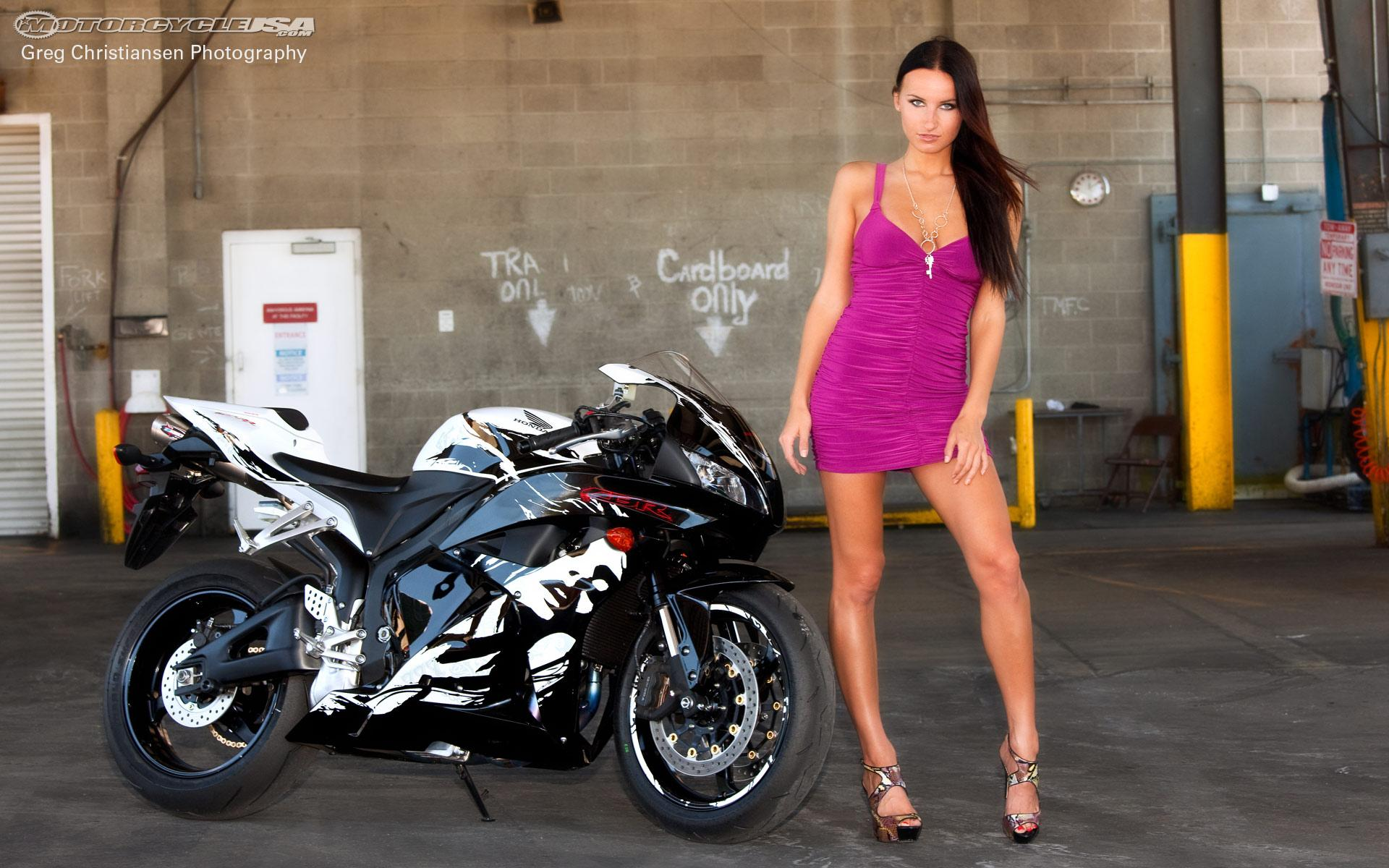 HOT BABE HONDA CBR 600RR   Motorcycles Wallpaper 31778226 1920x1200
