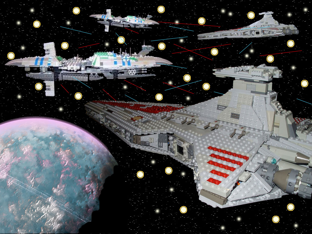 All sizes Lego Star Wars Space Battle Flickr   Photo Sharing 1024x768