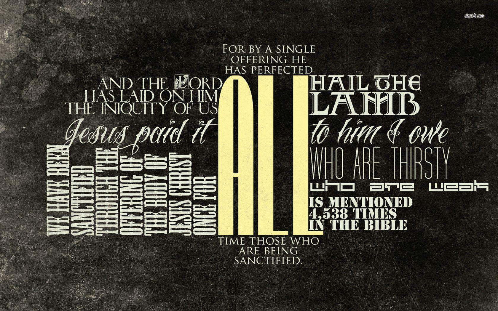 Bible Verse Wallpapers 1680x1050