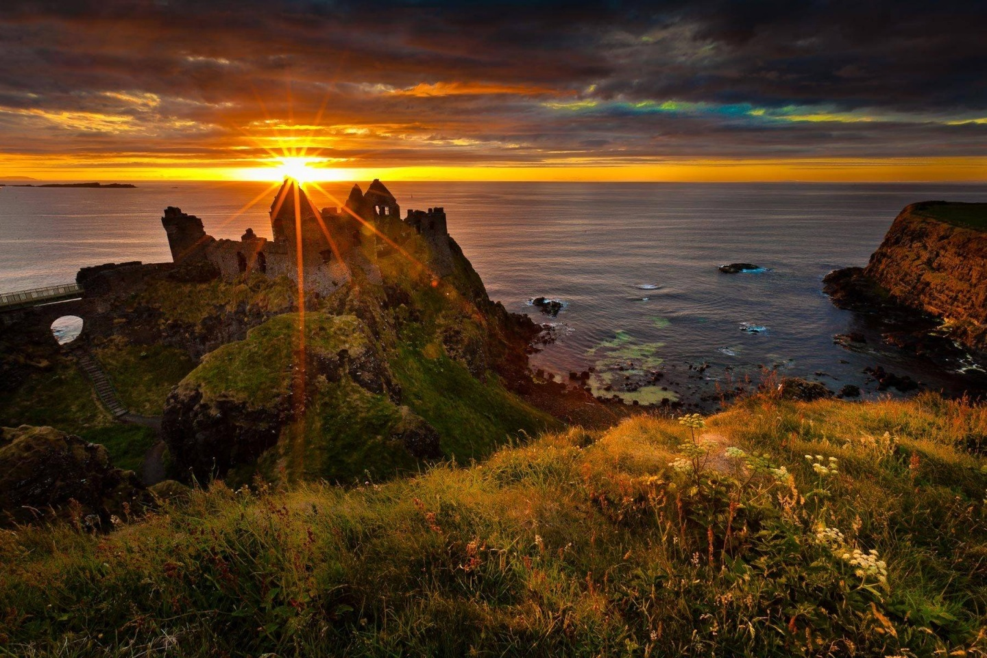 Dunluce Castle Northern Ireland Wallpaper Celtic Irish Wallpaper 1440x960