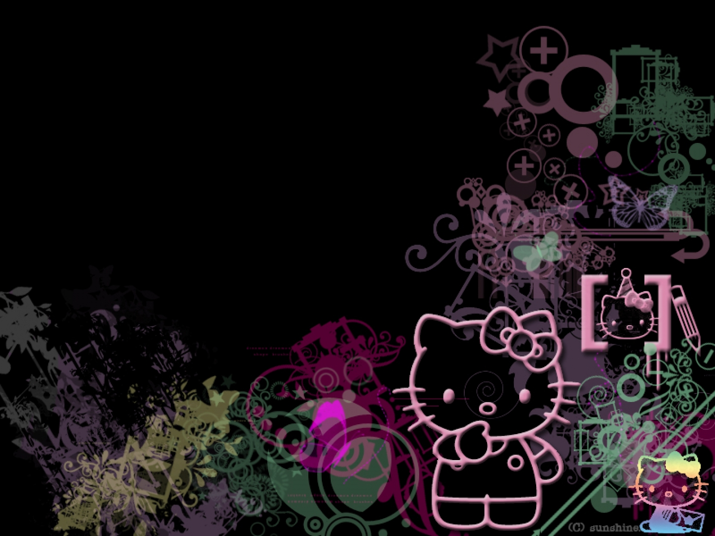 Hello Kitty Screensavers And Wallpapers 1440x1080