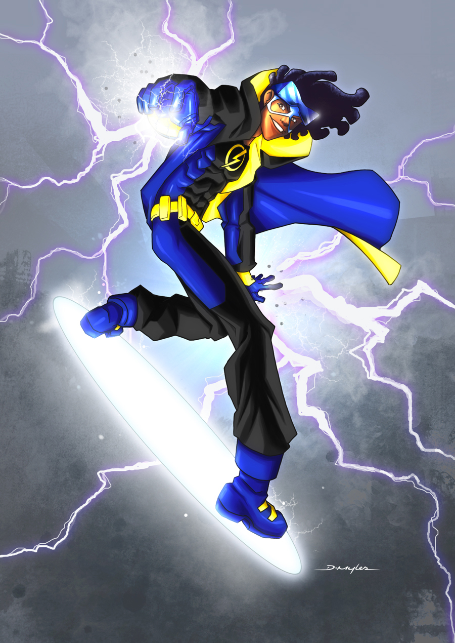 Static Shock Cartoon Wallpaper PicsWallpapercom 900x1270