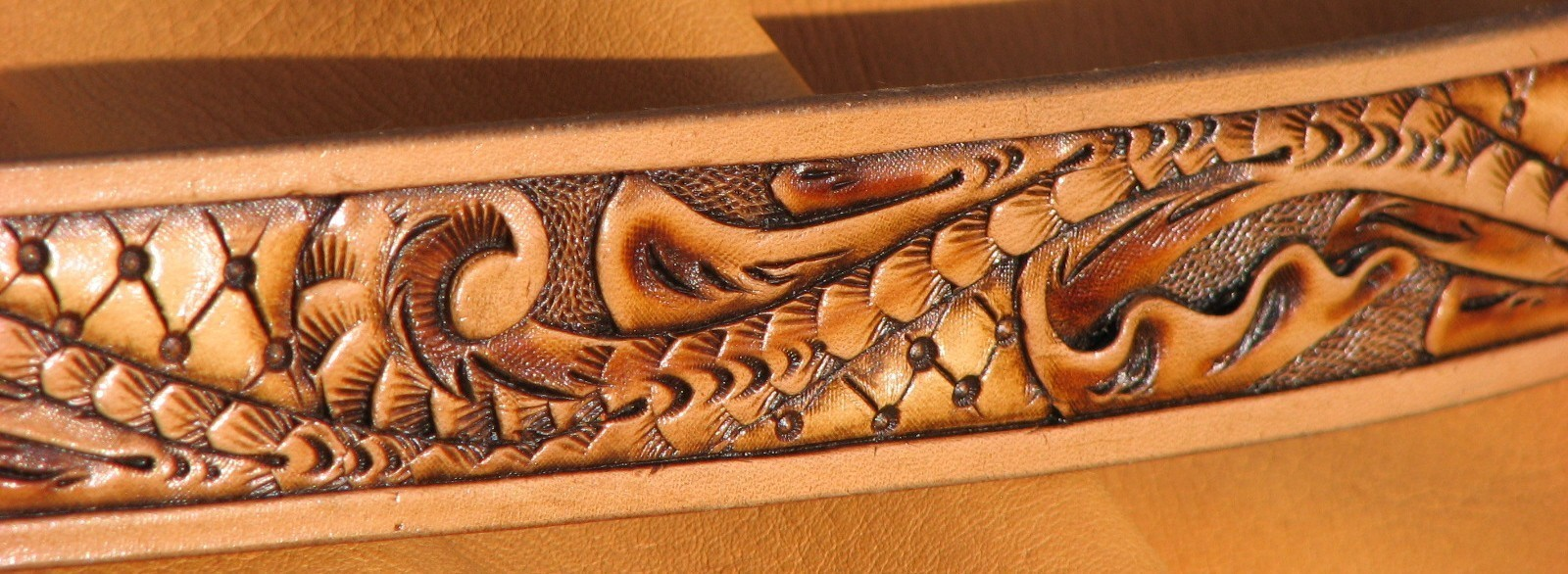 Hand Carved And Tooled Leather Belt HD Walls Find Wallpapers 1600x586