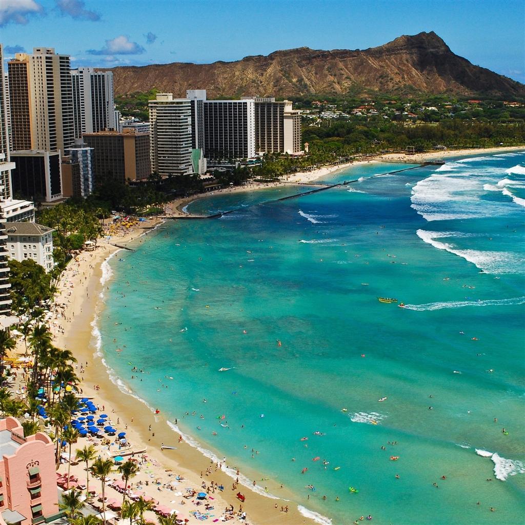 95] Waikiki Wallpapers on WallpaperSafari 1024x1024