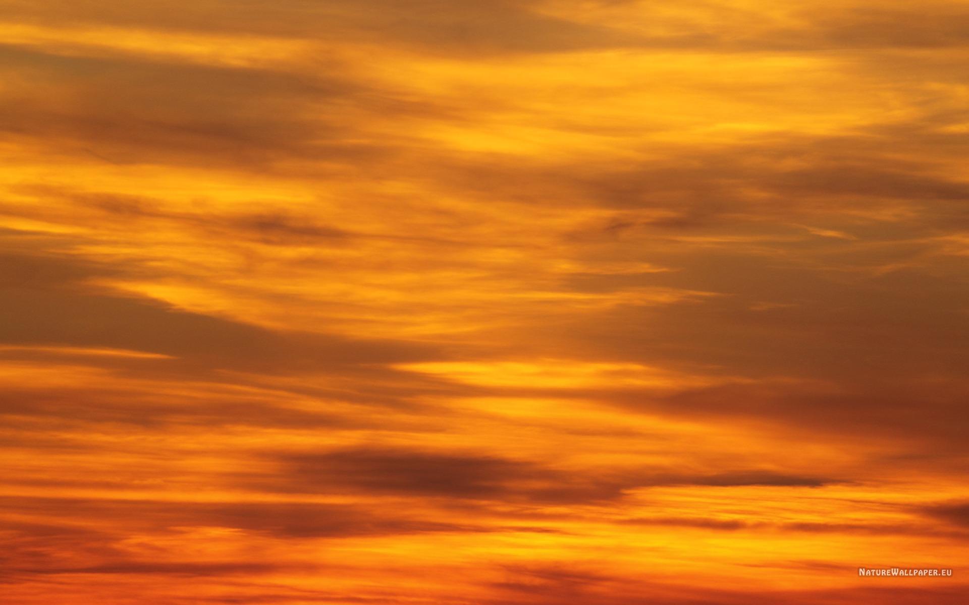 1920x1200 wallpaper Dark Orange Sky Wallpaper Background 1920x1200
