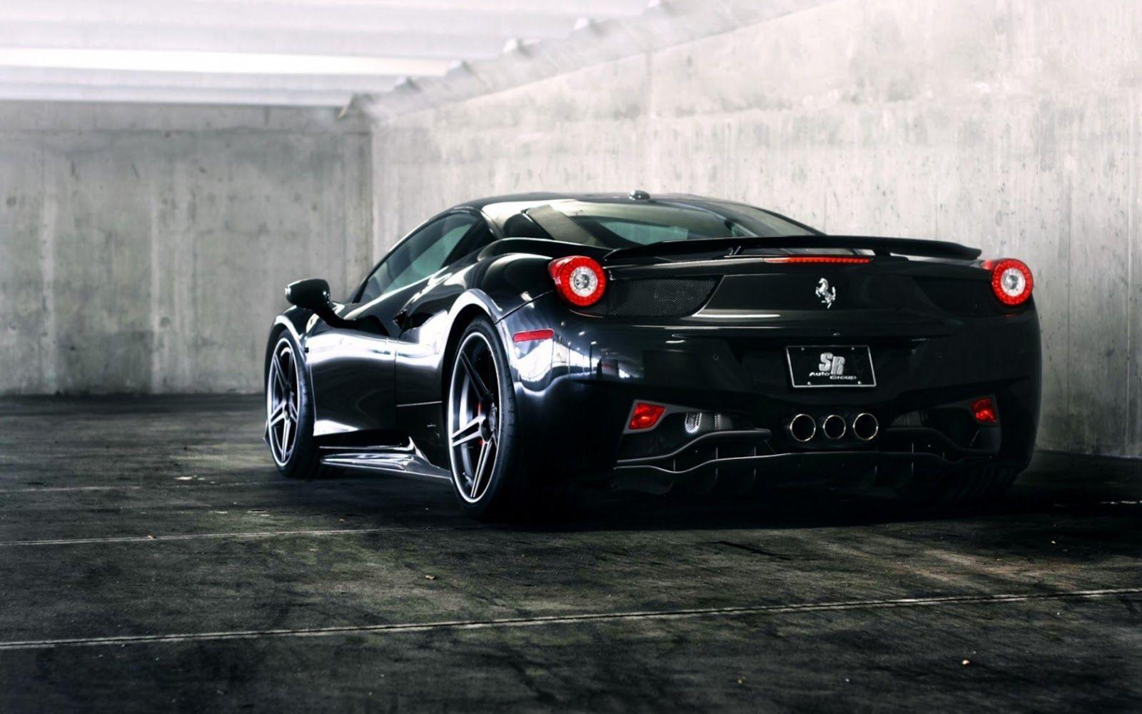 Ferrari 458 Italia Wallpapers HD 1600x1000
