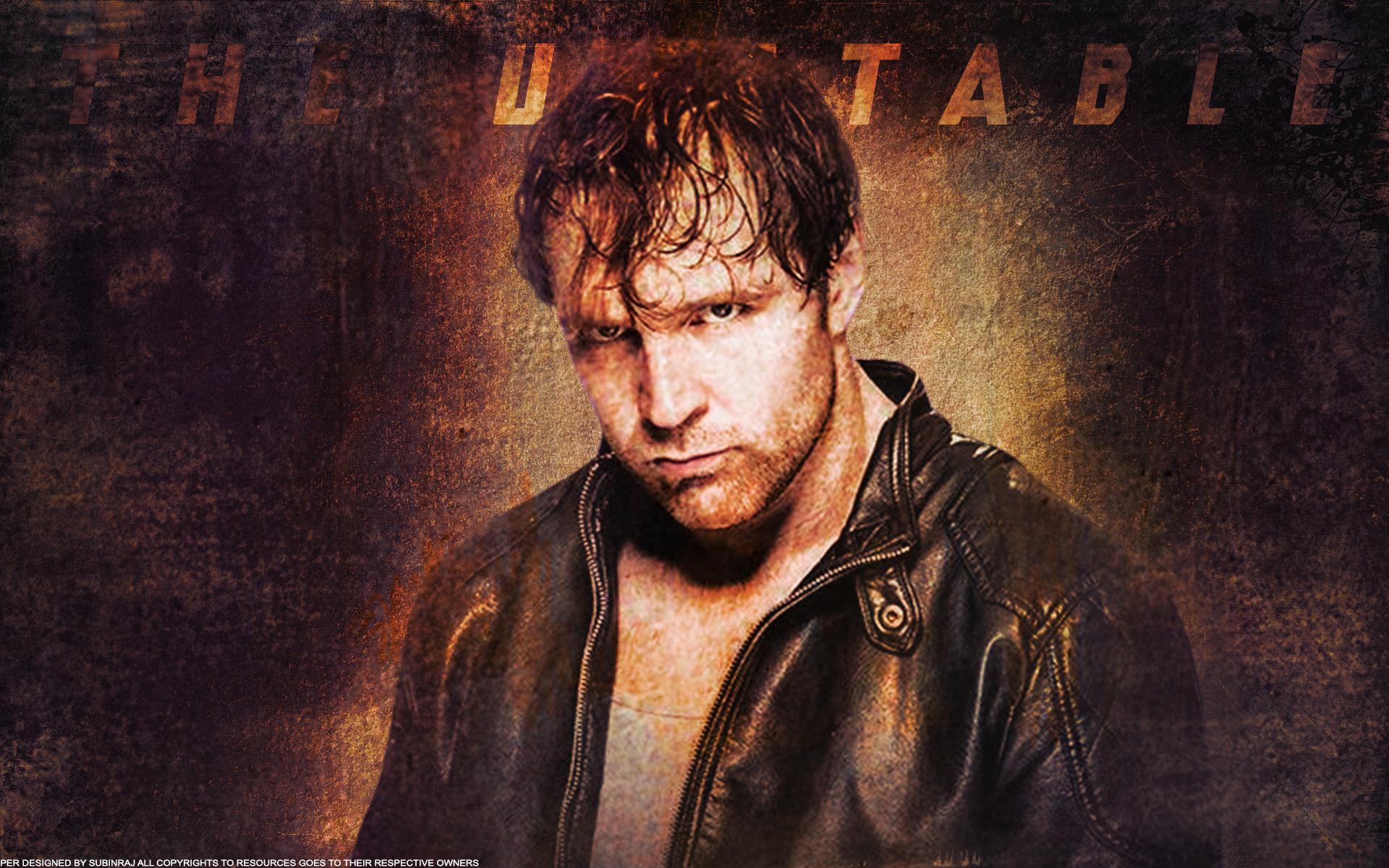 The Unstable Dean Ambrose Full HD Wallpaper by Subinraj 1920x1200