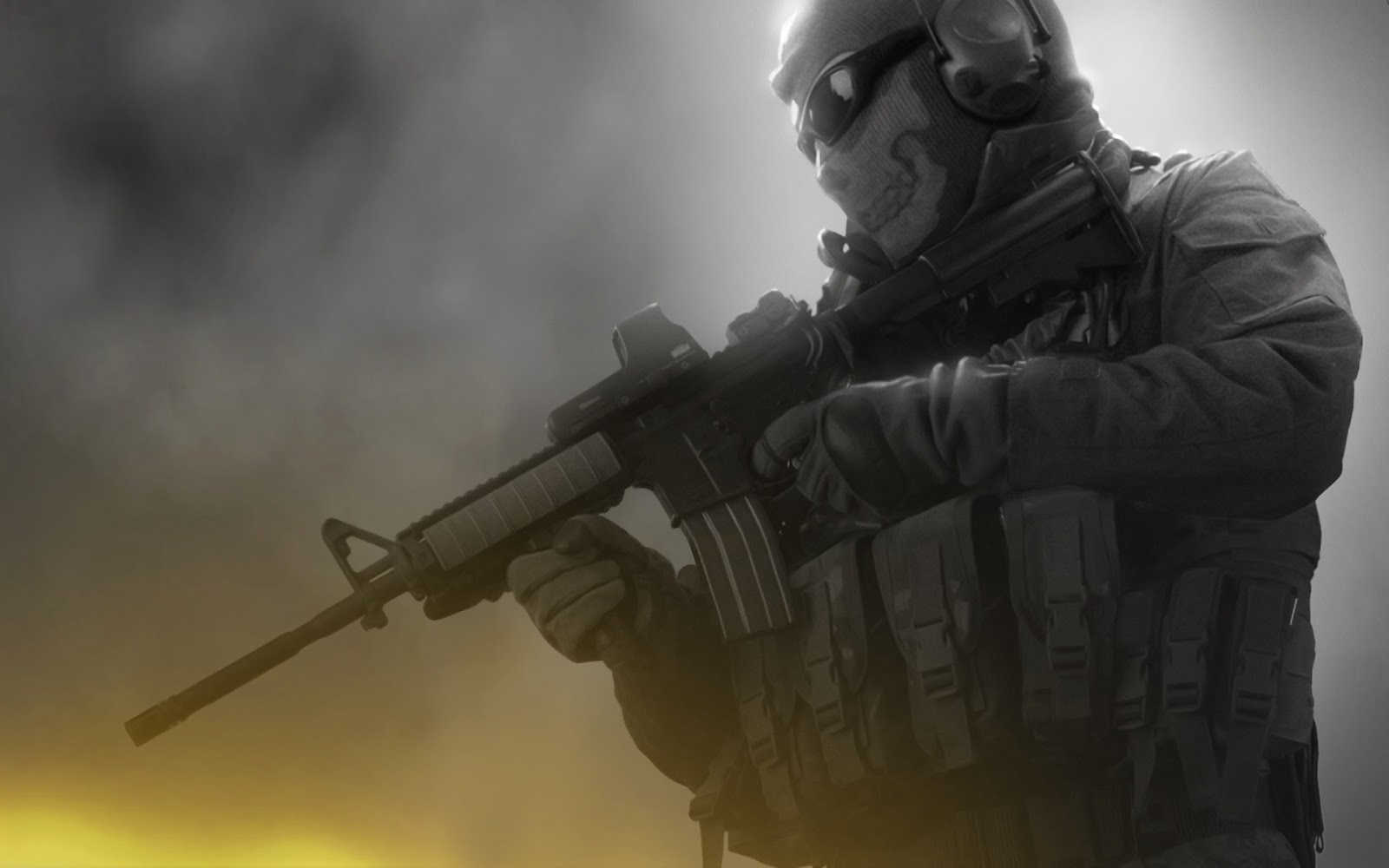 Skull Soldier Wallpaper HD - WallpaperSafari