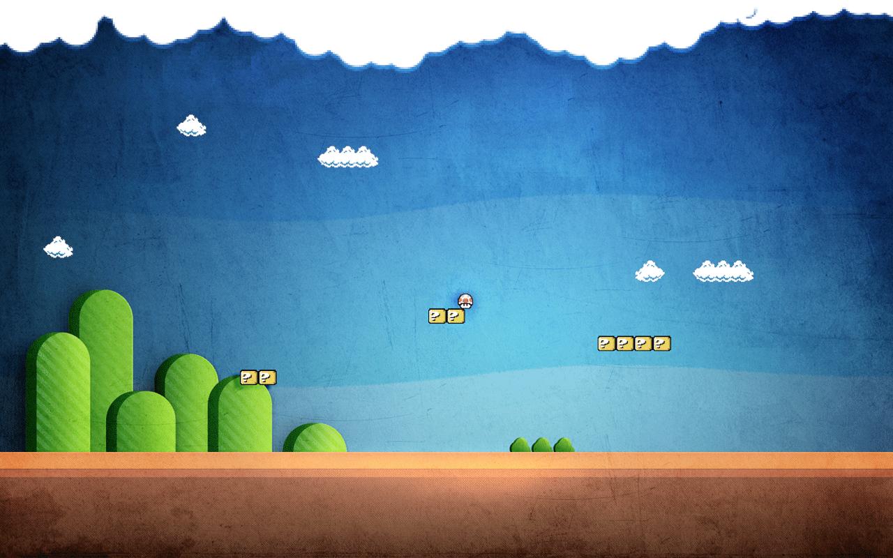 TechCredo 8 bit Super Mario and retro pixels wallpapers 1280x800
