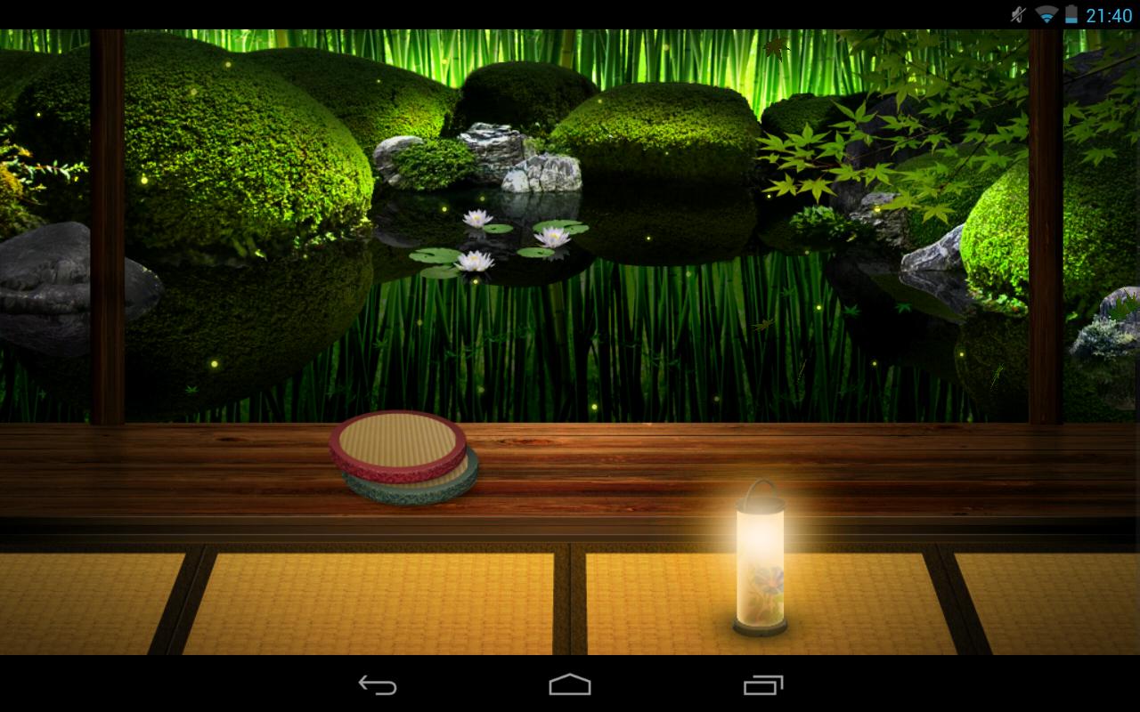 Zen Garden  Summer  LW Apps para Android no Google Play 1280x800