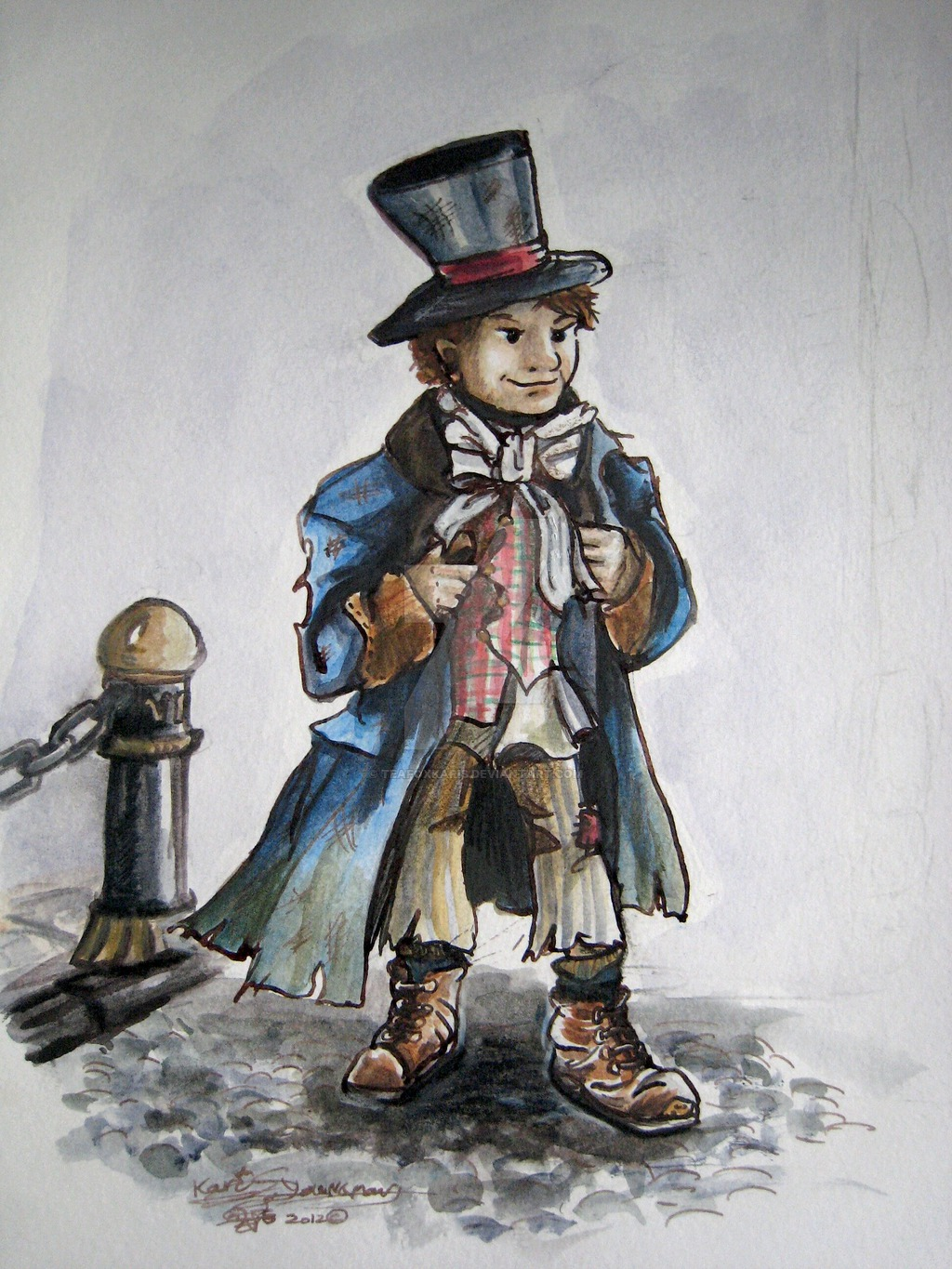 The Artful Dodger from Oliver Twist by TeaFoxKaris on 1024x1365