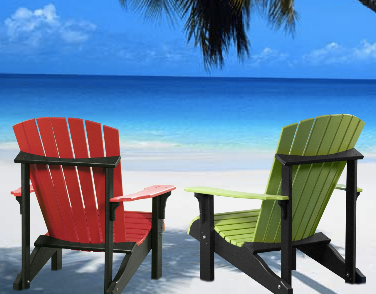 47+] Adirondack Chairs on Beach Wallpapers on WallpaperSafari