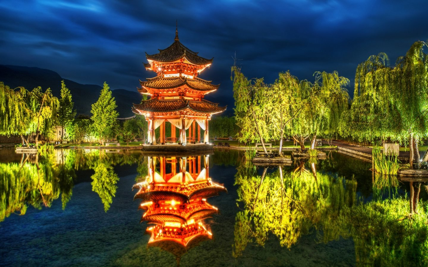 Lijiang City Of China HD Wallpaper Slwallpapers 1440x900