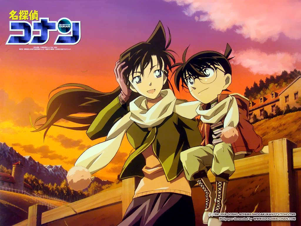 ran and conan   Detective Conan Wallpaper 10103182 1024x768