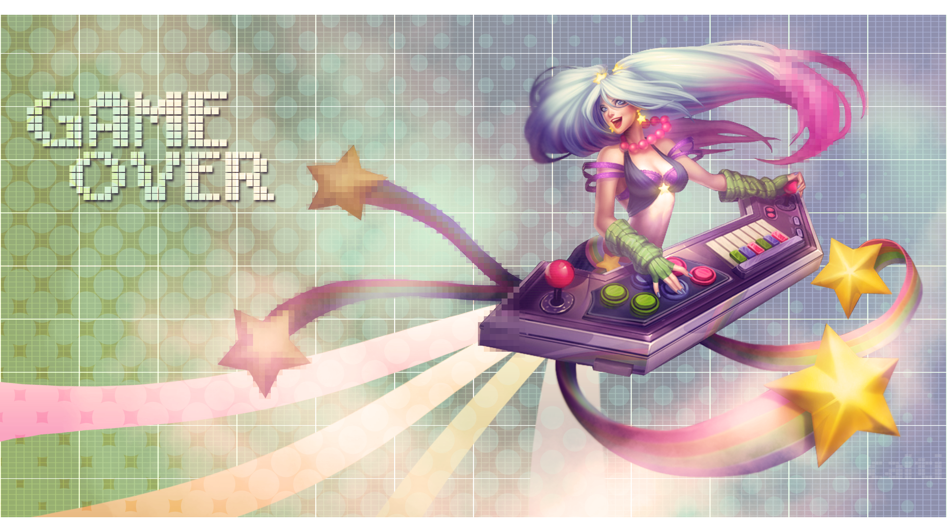 Arcade Battle Fan Art - League of Legends Wallpapers  Arcade Sona Wallpaper