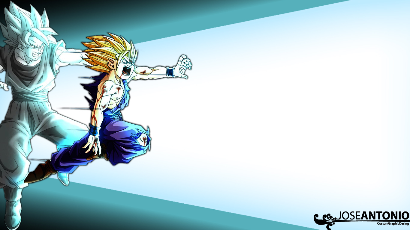 kamehameha gohangoku wallpaper by toniio94 customization wallpaper mac 1366x768