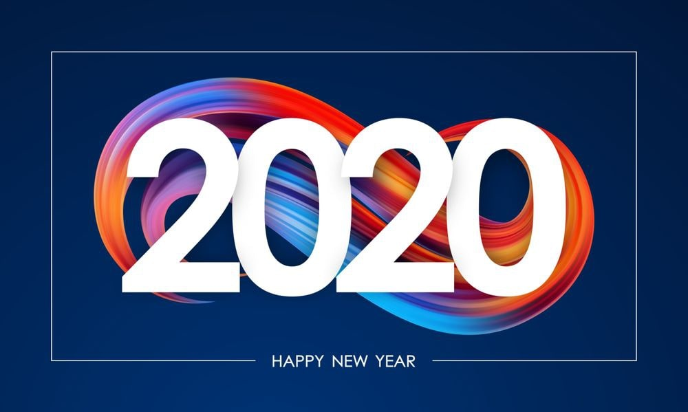 Happy New Year 2020 HD Wallpapers   POETRY CLUB 1000x599