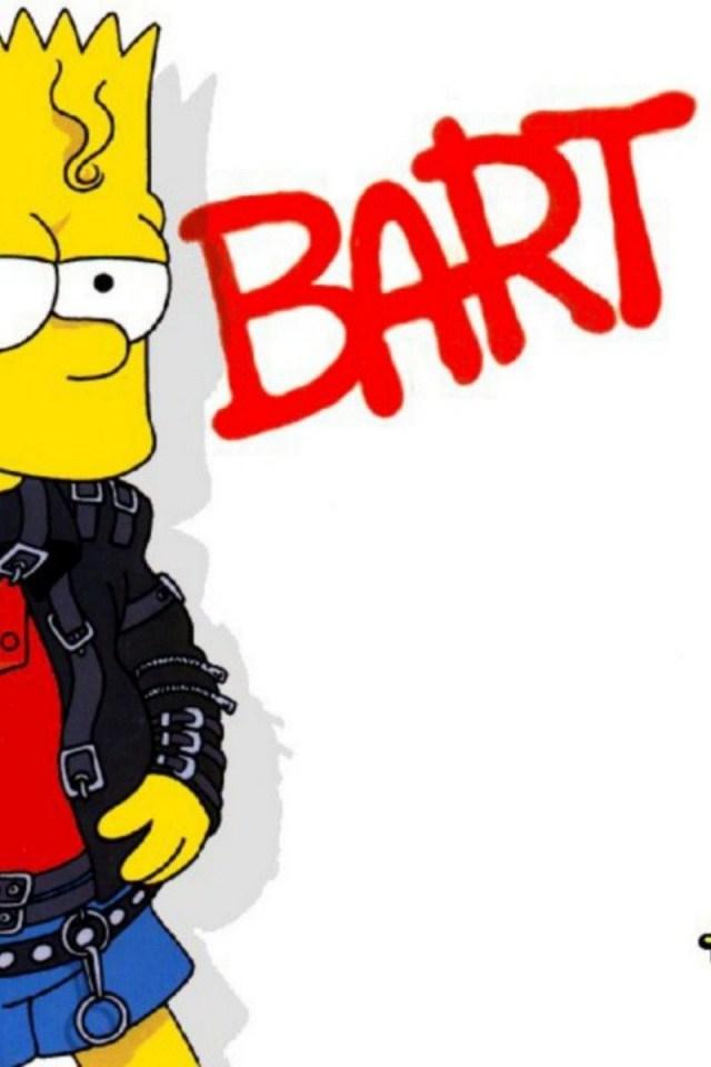 Free Download Bart Simpson Wallpaper Iphone Simpsons Iphone