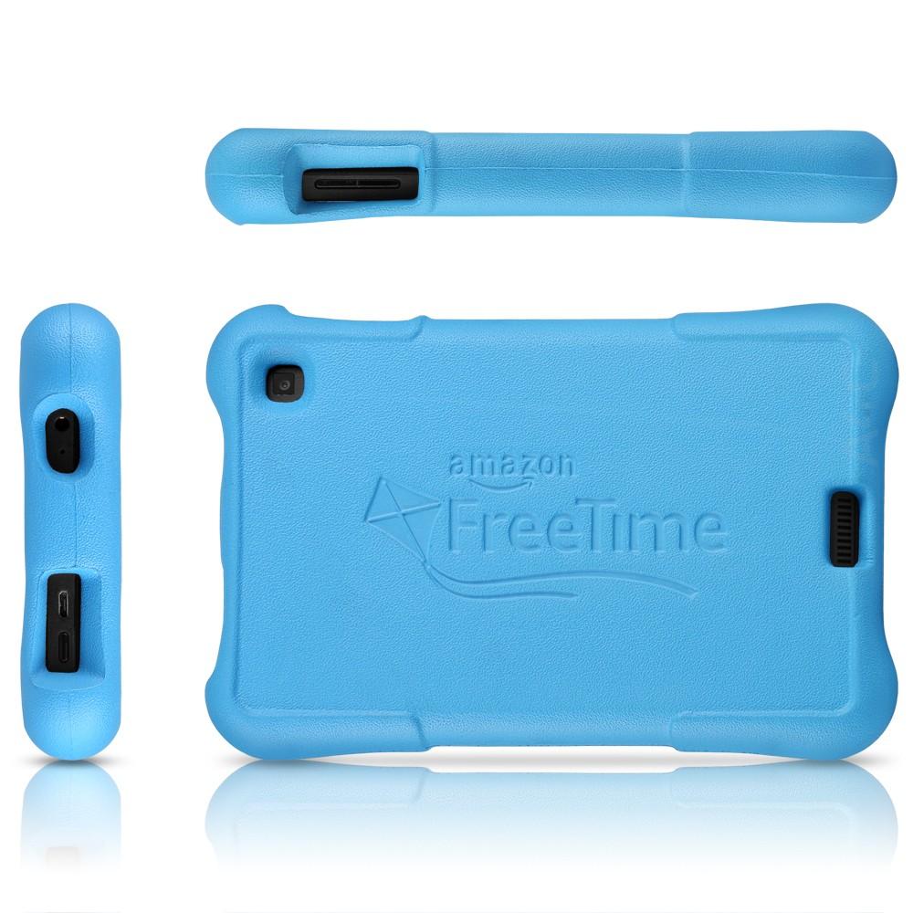 Amazon Kindle Fire HD 6 Kids Edition 8GB   Black w Blue Case 1000x1000