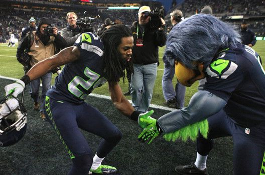 Seattle Seahawks Richard Sherman Vs 49ers HD4Wallpapernet 528x350
