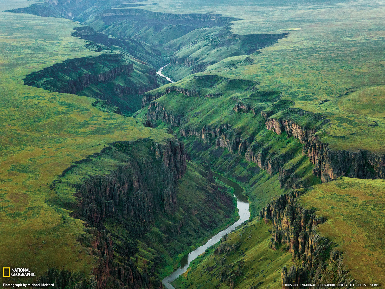 Owyhee River Picture Landscape Wallpaper   National Geographic 1600x1200