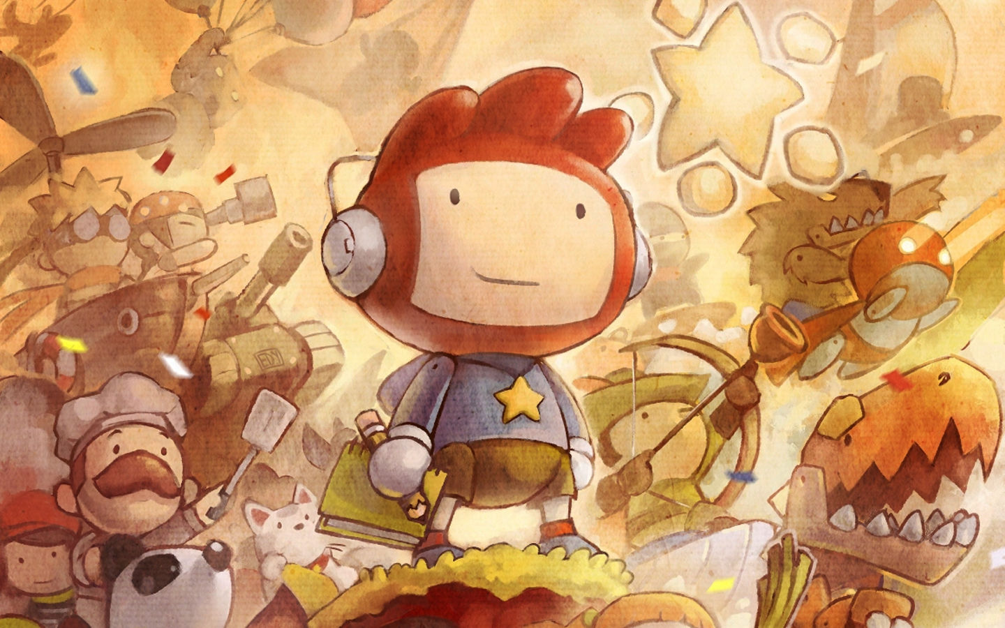Scribblenauts promo Eye Candy I wonder if everything in the 1440x900